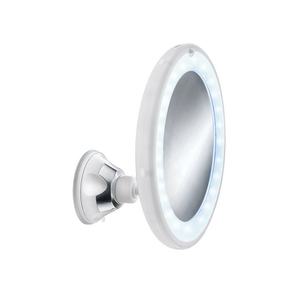 Spegel Flexy Light weiss